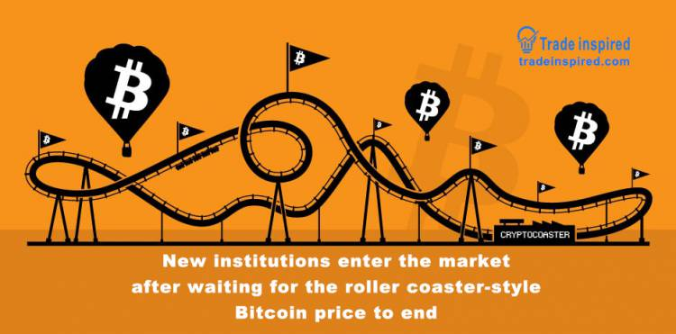 Analysis: New institutions enter the market after waiting for the roller coaster-style Bitcoin price to end